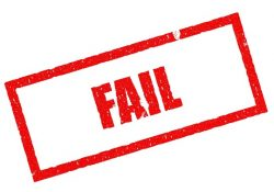 fracaso cuestion actitud