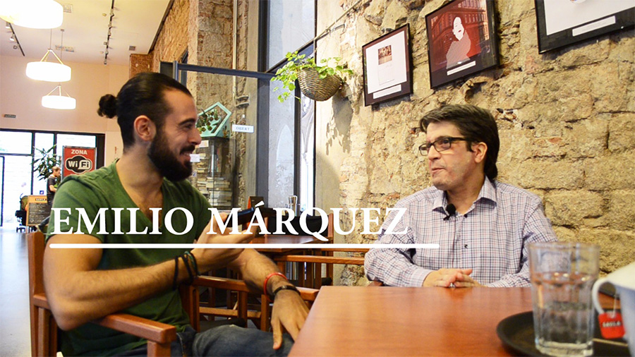 Carlos Jimenez entrevista a Emilio Marquez