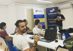 Carlos Jimenez en el curso de seo de Webescuela
